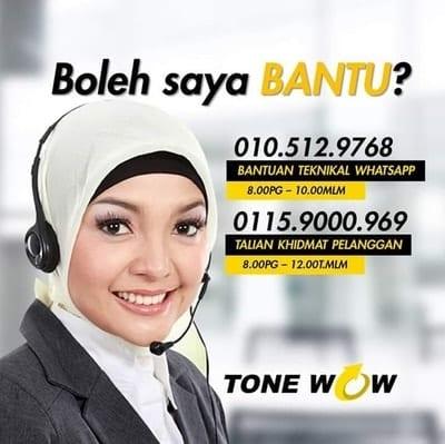 tone wow careline